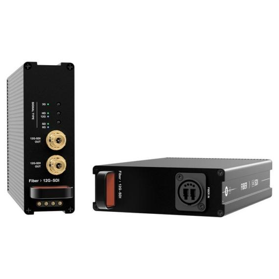 FIBER - 12G SDI receiver rack fiók